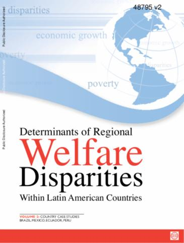 Portada de Determinants of regional welfare disparities within Latin America countries