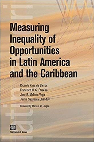 Portada de Measuring inequality of opportunities in Latin America and the caribbean
