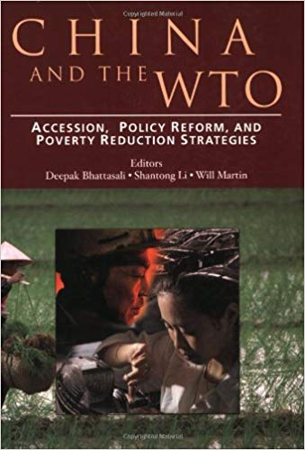 Portada de China and the wto