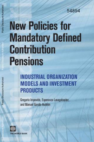 Portada de New policies for mandatory defined contribution pensions