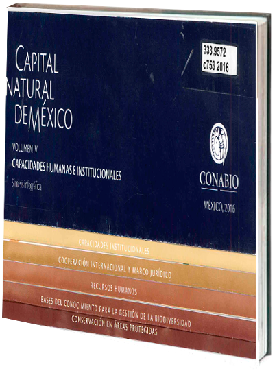 Portada de Capital natural de México