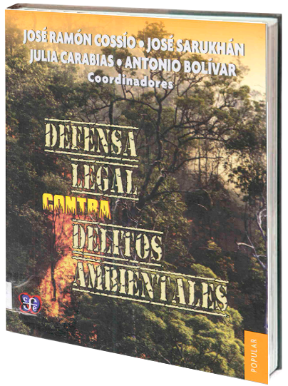 Portada de DEFENSA LEGAL CONTRA DELITOS AMBIENTALES