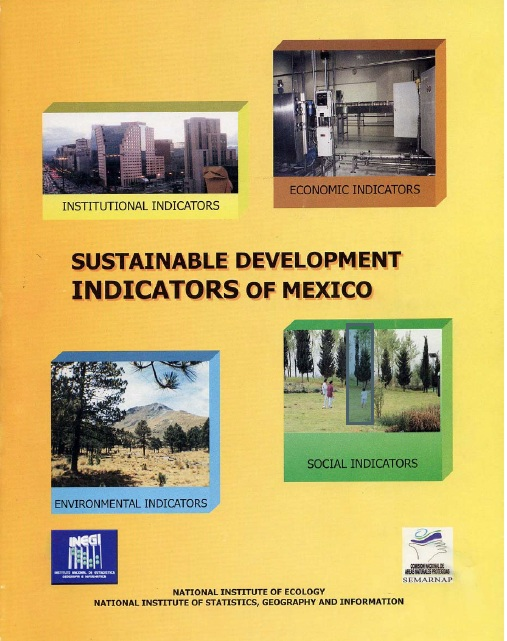 Portada de Sustainable development indicators of Mexico