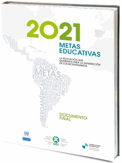 Portada de 2021 Metas educativas