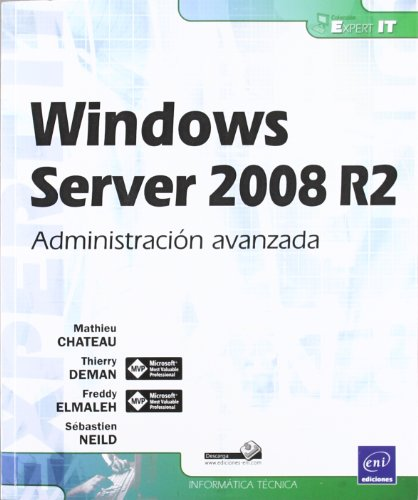 Portada de Windows server 2008 R2