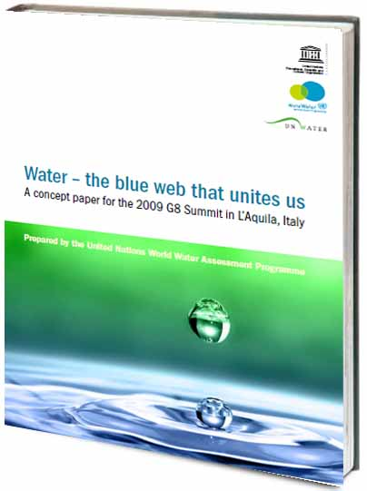 Portada de Water - the blue wed that unites us