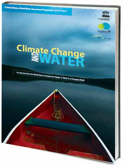 Portada de Climate change and water