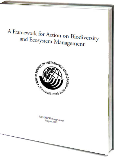 Portada de A framework for action on biodiversity and ecosystem management