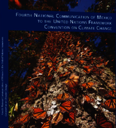 Portada de Fourth national communication of Mexico to the united nations framework convention on climate change