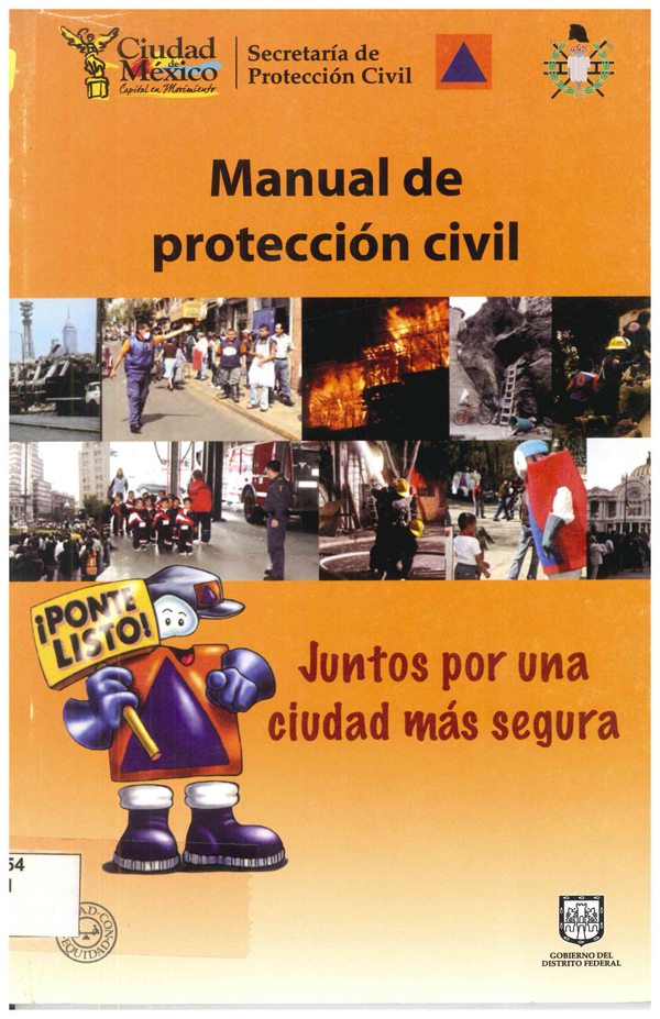 Portada de Manual de protección civil